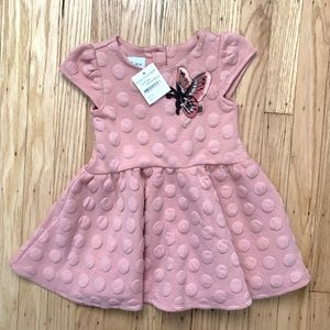 NWT Pippa and Julie Butterfly quilted dress 2T